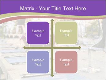 Huge Dinner Table Outside PowerPoint Template - Slide 37