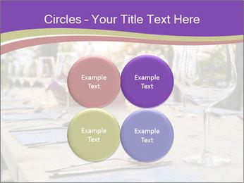Huge Dinner Table Outside PowerPoint Template - Slide 38