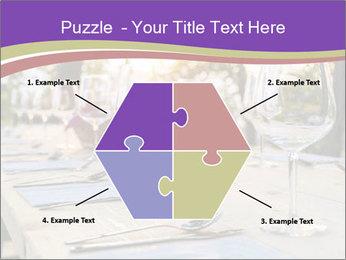Huge Dinner Table Outside PowerPoint Template - Slide 40