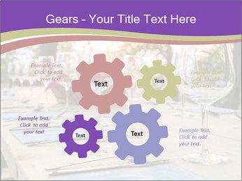 Huge Dinner Table Outside PowerPoint Template - Slide 47