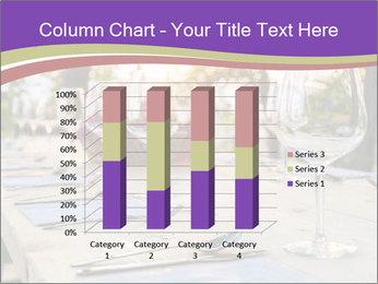 Huge Dinner Table Outside PowerPoint Template - Slide 50