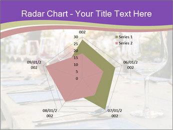 Huge Dinner Table Outside PowerPoint Template - Slide 51