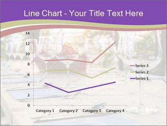 Huge Dinner Table Outside PowerPoint Template - Slide 54