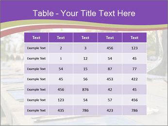 Huge Dinner Table Outside PowerPoint Template - Slide 55