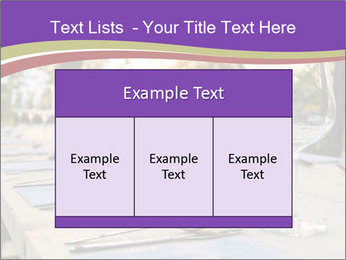 Huge Dinner Table Outside PowerPoint Template - Slide 59