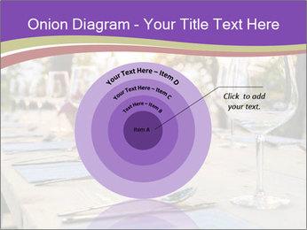 Huge Dinner Table Outside PowerPoint Template - Slide 61