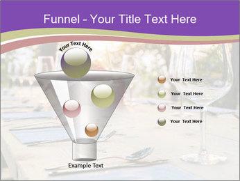 Huge Dinner Table Outside PowerPoint Template - Slide 63