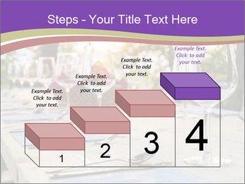 Huge Dinner Table Outside PowerPoint Template - Slide 64
