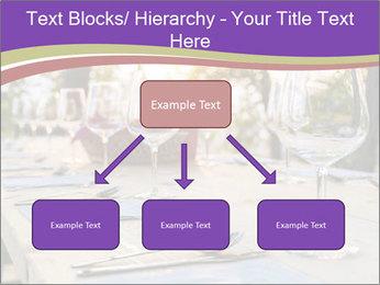 Huge Dinner Table Outside PowerPoint Template - Slide 69