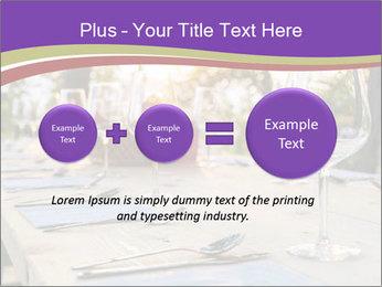 Huge Dinner Table Outside PowerPoint Templates - Slide 75