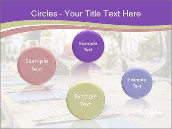 Huge Dinner Table Outside PowerPoint Template - Slide 77