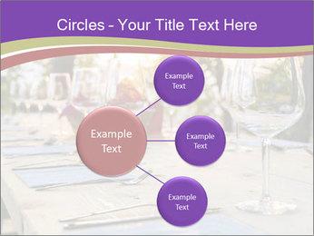 Huge Dinner Table Outside PowerPoint Template - Slide 79