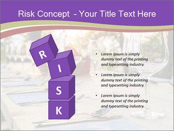 Huge Dinner Table Outside PowerPoint Template - Slide 81