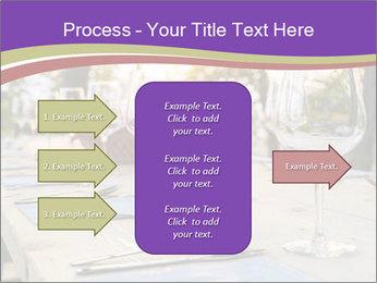 Huge Dinner Table Outside PowerPoint Template - Slide 85