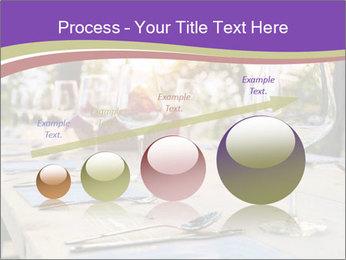 Huge Dinner Table Outside PowerPoint Template - Slide 87