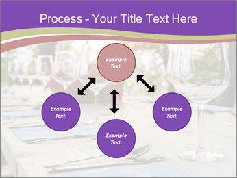 Huge Dinner Table Outside PowerPoint Template - Slide 91