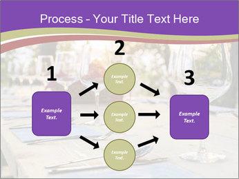 Huge Dinner Table Outside PowerPoint Template - Slide 92