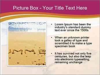 Honeymoon Beach PowerPoint Template - Slide 13