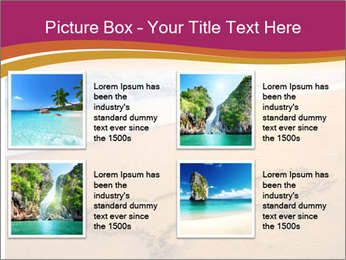 Honeymoon Beach PowerPoint Template - Slide 14