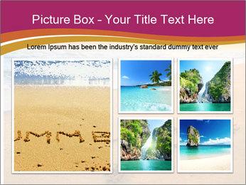 Honeymoon Beach PowerPoint Template - Slide 19