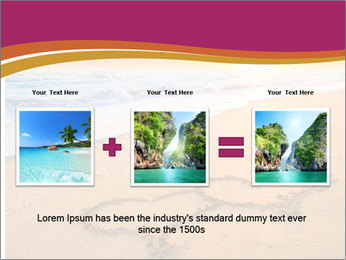 Honeymoon Beach PowerPoint Template - Slide 22