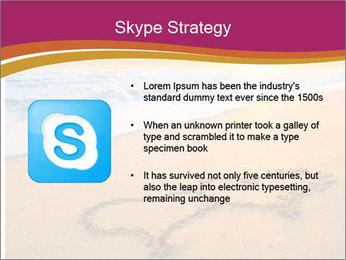 Honeymoon Beach PowerPoint Template - Slide 8