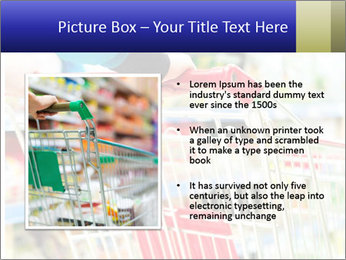 Shopping In Supermarket PowerPoint Template - Slide 13