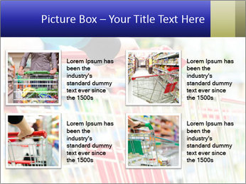 Shopping In Supermarket PowerPoint Template - Slide 14