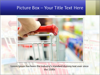 Shopping In Supermarket PowerPoint Template - Slide 15