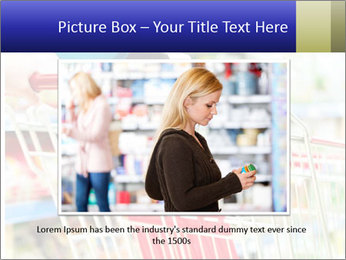 Shopping In Supermarket PowerPoint Template - Slide 16