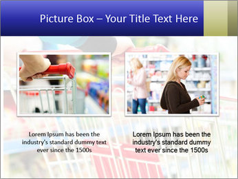 Shopping In Supermarket PowerPoint Template - Slide 18