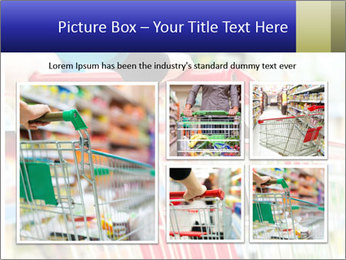 Shopping In Supermarket PowerPoint Template - Slide 19
