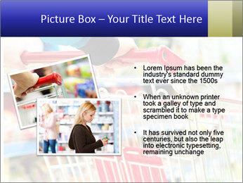 Shopping In Supermarket PowerPoint Template - Slide 20