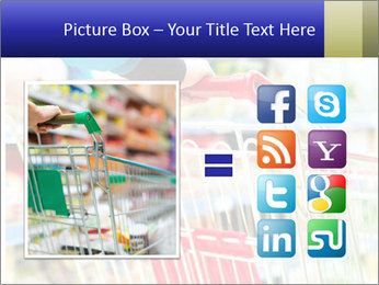 Shopping In Supermarket PowerPoint Template - Slide 21