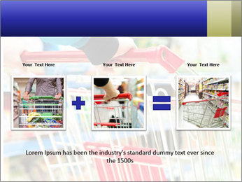 Shopping In Supermarket PowerPoint Template - Slide 22