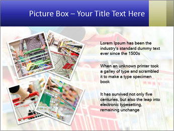 Shopping In Supermarket PowerPoint Templates - Slide 23