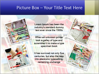Shopping In Supermarket PowerPoint Templates - Slide 24