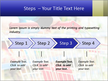 Shopping In Supermarket PowerPoint Template - Slide 4