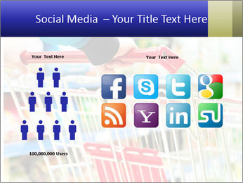 Shopping In Supermarket PowerPoint Templates - Slide 5