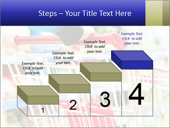 Shopping In Supermarket PowerPoint Templates - Slide 64