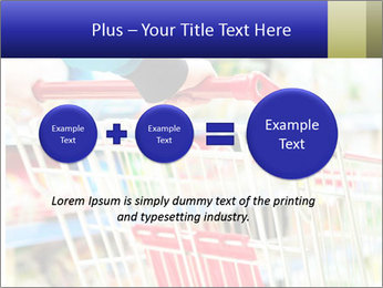 Shopping In Supermarket PowerPoint Template - Slide 75