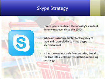 Shopping In Supermarket PowerPoint Templates - Slide 8
