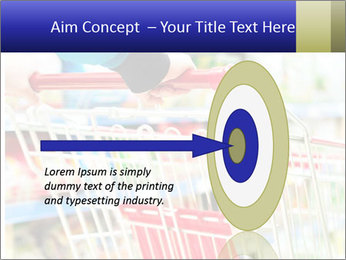 Shopping In Supermarket PowerPoint Template - Slide 83