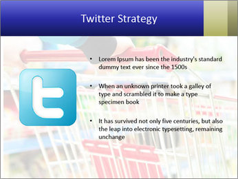 Shopping In Supermarket PowerPoint Template - Slide 9