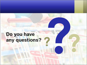 Shopping In Supermarket PowerPoint Templates - Slide 96