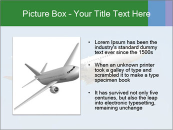White Plane PowerPoint Templates - Slide 13