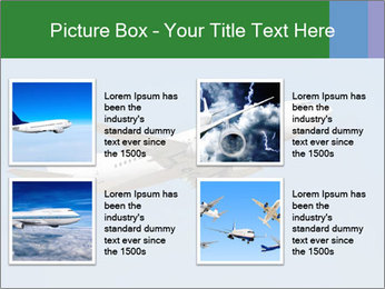 White Plane PowerPoint Templates - Slide 14