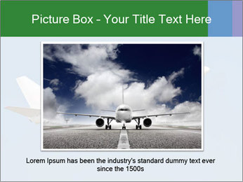White Plane PowerPoint Template - Slide 15