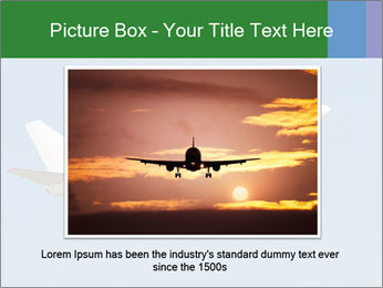 White Plane PowerPoint Template - Slide 16