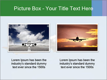White Plane PowerPoint Template - Slide 18